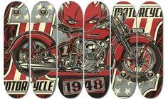 David Vicente   Custom   Skateboards Design