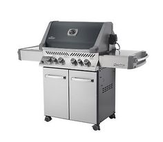 Napoleon P500RSIBPCH-1 Prestige 500 Propane Gas Grill On Cart with Infrared Roti