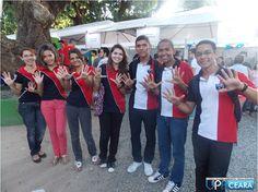 Jovem Nota Dez visita a Feira das Profissões ~ Bloco 1 - Força Jovem Universal Ceará