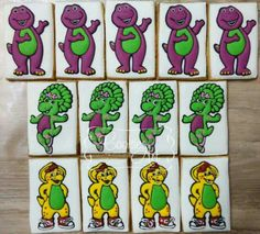 Barnie and Friends Cookies