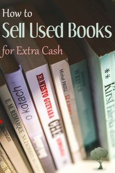 Copy Paste Earn Money - Two successful sellers share their tips on how to sell used books for extra cash or as a full-time business. make money for christmas You're copy pasting anyway.Get paid for it. Make Money From Home, Way To Make Money, How To Make, How To Earn Money, Extra Cash, Extra Money, Sell Used Books, Sell Books For Cash, Finance