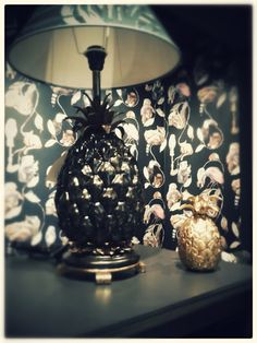 Pineapple lamps by House of Hackney