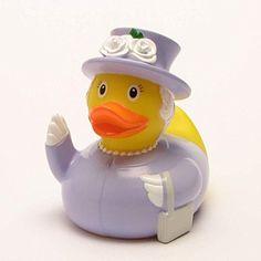 DUCKSHOP | Queen Elizabeth II. Rubber Duck | Bathduck | L...…
