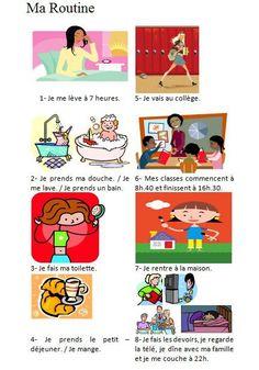 routine en francais