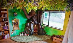 Vader bouwt een magische sprookjesboom in de kamer van zijn dochter... - Zelfmaak ideetjes