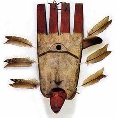 Yup'ik shaman's transformation mask, Alaska