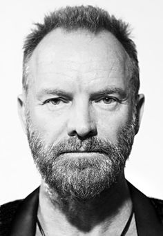 """Gordon Summer, aka Sting of """"The Police"""" Sting Musician, Most Popular People, Facial Pictures, U2 Songs, Receding Hair Styles, The New Wave, Influential People, Hair And Beard Styles, Musica"""