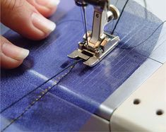 Finish transparent edges with this simple-to-sew couture technique.