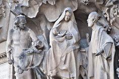 Symbolic visit - Sagrada Familia: The Flight into Egypt