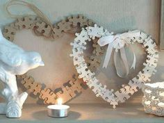Use old puzzle pieces to make these. They make great Mothers Day gifts!!