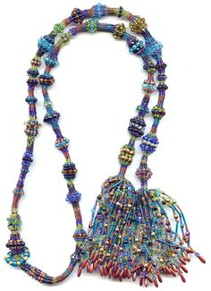 Caged Ndebele Lariat  Kit by Nikia on Etsy, $90.00