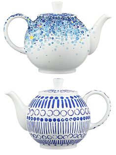 Limited edition teapots from Crate & Barrel