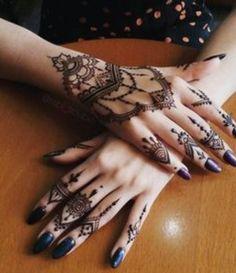Cute Henna Designs, Latest Henna Designs, Beautiful Henna Designs, Mehndi Designs For Hands, Henna Tattoo Designs, Designs Mehndi, Mehendi, Arte Mehndi, Henna Tattoo Hand