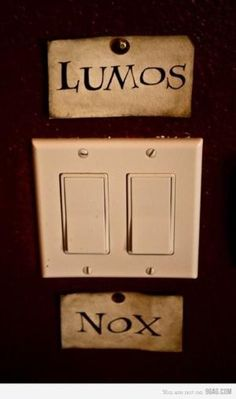 I feel to the right person, putting this by every light fixture in their house would be hilarious...