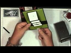Waterfall card with Dawn - YouTube