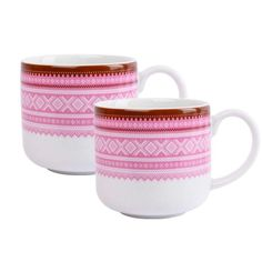 Mariuskoppen: Trend Rosa - i Gaveeske Mugs, Tableware, Products, Pink, Dinnerware, Tumblers, Tablewares, Mug, Dishes