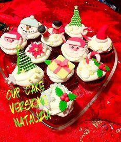 cup cake versione natalizia