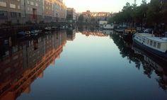 Amsterdam by morning by Rene