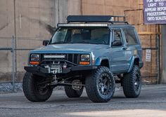Bid for the chance to own a Modified 1998 Jeep Cherokee at auction with Bring a Trailer, the home of the best vintage and classic cars online. Jeep Cherokee Sport, Cherokee 4x4, Jeep Grand Cherokee, Jeep Cherokee For Sale, Modificaciones Jeep Xj, Jeep Truck, First Time Driver, Car Travel, Classic Cars Online