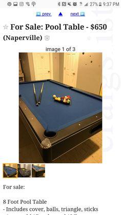 MD Sports Springdale Ft Billiards Pool Table And Accessories MD - Springdale pool table
