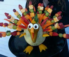Thanksgiving edible arrangement by Alison Tames