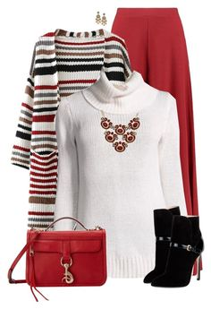 """""""Crimson"""" by daiscat ❤ liked on Polyvore featuring Boohoo, On the Road, Rebecca Minkoff, INC International Concepts, Emilio Pucci and Oscar de la Renta"""
