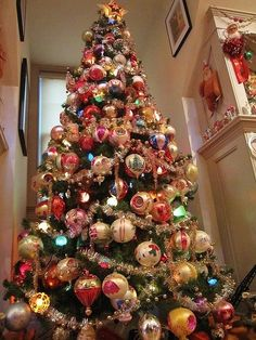 Christmas tree idea.  Another idea is a TEAM tree for the guys MAN CAVE - maybe NYYankees, Red Sox, Nets, Patriots etc.