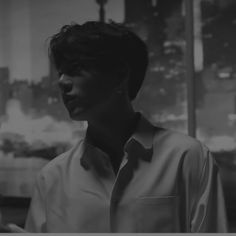 jungkook black and white
