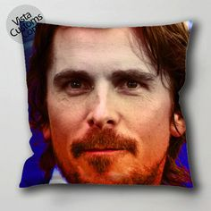 christian bale 3 vistacustoms.com Pillow Case, Cushion Cover with optional 1 or 2 side print and available in size 16, 8, 20, 24, 28, 30, 36 inch D3 3.jpg