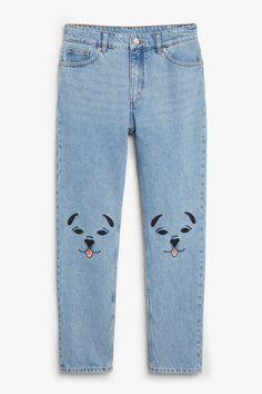 Kimomo lap dog jeans