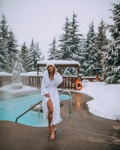 Whistler Canada Spa. Find a list of the best spas in Canada to visit in winter. Whether you want a relaxing getaway, a spa retreat with your partner, or a way to relax your body after a grueling hike, these top Canadian spas will have you relaxed and never wanting to leave! #canadawinter | best spas in Canada winter | Canada spas winter | Whistler Canada winter spa | Canada spa resort winter | Canada spa retreat | Canada winter things to do in | best places to go in Canada in winter Cool Places To Visit, Places To Go, Montreal Travel, Best Instagram Photos, Instagram Feed, Best Spa, Merry Christmas Everyone, Snowy Day, Steam Bath