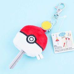 Pokemon Ball Retractable Keyring Charm - Blippo Kawaii Shop