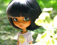 Pullip Doll Outfit, Summer Lime {by mimiville on etsy}