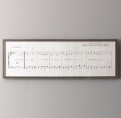 You Are My Sunshine Sheet Music | Wall Art | Restoration Hardware Baby & Child