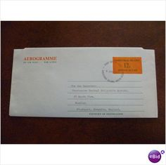 Christmas Island Indian Ocean 1972 12c Aerogramme FDI postal stationery air mail on eBid United Kingdom