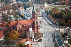Dron nad miastem. Białystok widziany z lotu ptaka [WIDEO]