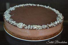 SÜTIK BIRODALMA: Nutellás sajttorta Tiramisu, Cheesecake, Nutella, Sweets, Baking, Ethnic Recipes, Birthday Cakes, Cake Ideas, Food