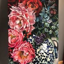 jana aspeling - Google Search Floral Wreath, Wreaths, Google Search, Painting, Home Decor, Art, Art Background, Floral Crown, Decoration Home