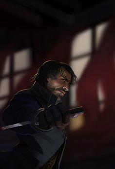 ArtStation - Corvo - Dishonored fan-art, Thomas Leveque