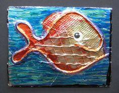 Foil Fish | TeachKidsArt