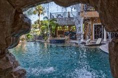 80 fabulous swimming pools with waterfalls pictures - Cool Pools With Waterfalls In Houses