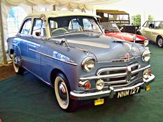 1954 Vauxhall Velox EIPV Series 2.2L 6-Cylinder OHV Engine Vintage Cars, Antique Cars, Gold Cars, Veteran Car, Old Classic Cars, Motorcycle Art, Car Ford, Commercial Vehicle, My Ride