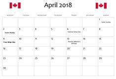 April  Calendar Template   Calendar Templates