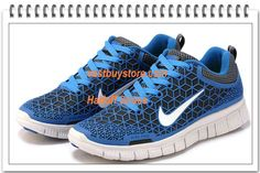 Free Shipping to Buy $64.88 2013 Nike Free 6.0 Blue Spider-man Best Selling #nike #shoes nike shoes