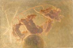 Danza delle Ore - 1899 - The Dance of the Hours by Gaetano Previati Gaetano Previati – was an Italian Symbolist painter in the Divisionist style. Paul Signac, Art Nouveau, Maurice Denis, Gauguin, Italian Painters, Pre Raphaelite, Auguste Rodin, Italian Art, Art For Art Sake