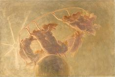 Gaetano Previati (1852-1920, Italy) - The Dance of the Hours, 1899