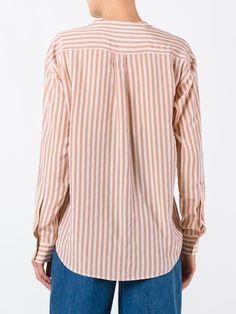 Closed полосатая рубашка с запахом