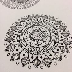 Ink Mandala by MagaMerlina, via Flickr