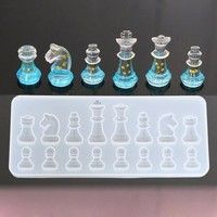 New Silicon Mold For Chess- Epoxy Resin Craft Mold – International chess Silicon… Neue Silikonform für Schach-Epoxidharz Craft Mould – International Chess Silicone Mould Resin-DIY Re Resin Jewelry Molds, Resin Molds, Diy Resin Mold, Ice Resin, Diy Resin Art, Diy Resin Crafts, Stick Crafts, Diy Crafts Tools, Crafting Tools