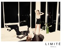 Celebratory Moment- Canadian label Limité hits its 25th Anniversary this year, and what better way to celebrate than with a new campaign? Enlisting Richard Bernardin for some energetic snaps starring Heloise Guerin, the blonde beauty sports the slinky dresses styled by Cloé Legault. / Hair & Make-up by Leslie-Ann Thomson @ Folio, Production by 30 Degrees